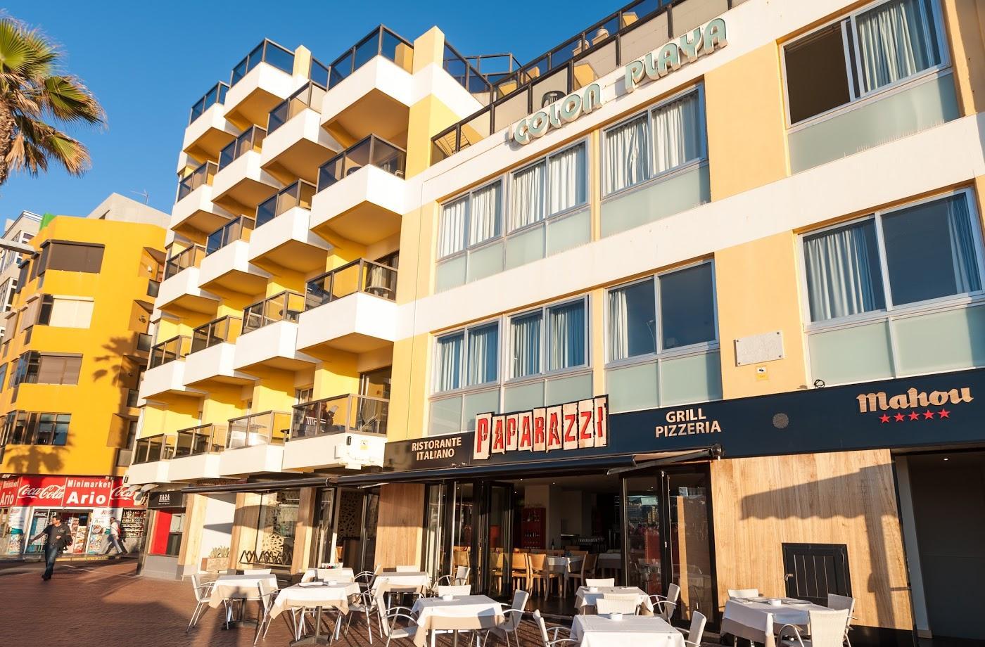 Hotel colon playa en las palmas de gran canaria gran - Apartamentos baratos playa vacaciones ...