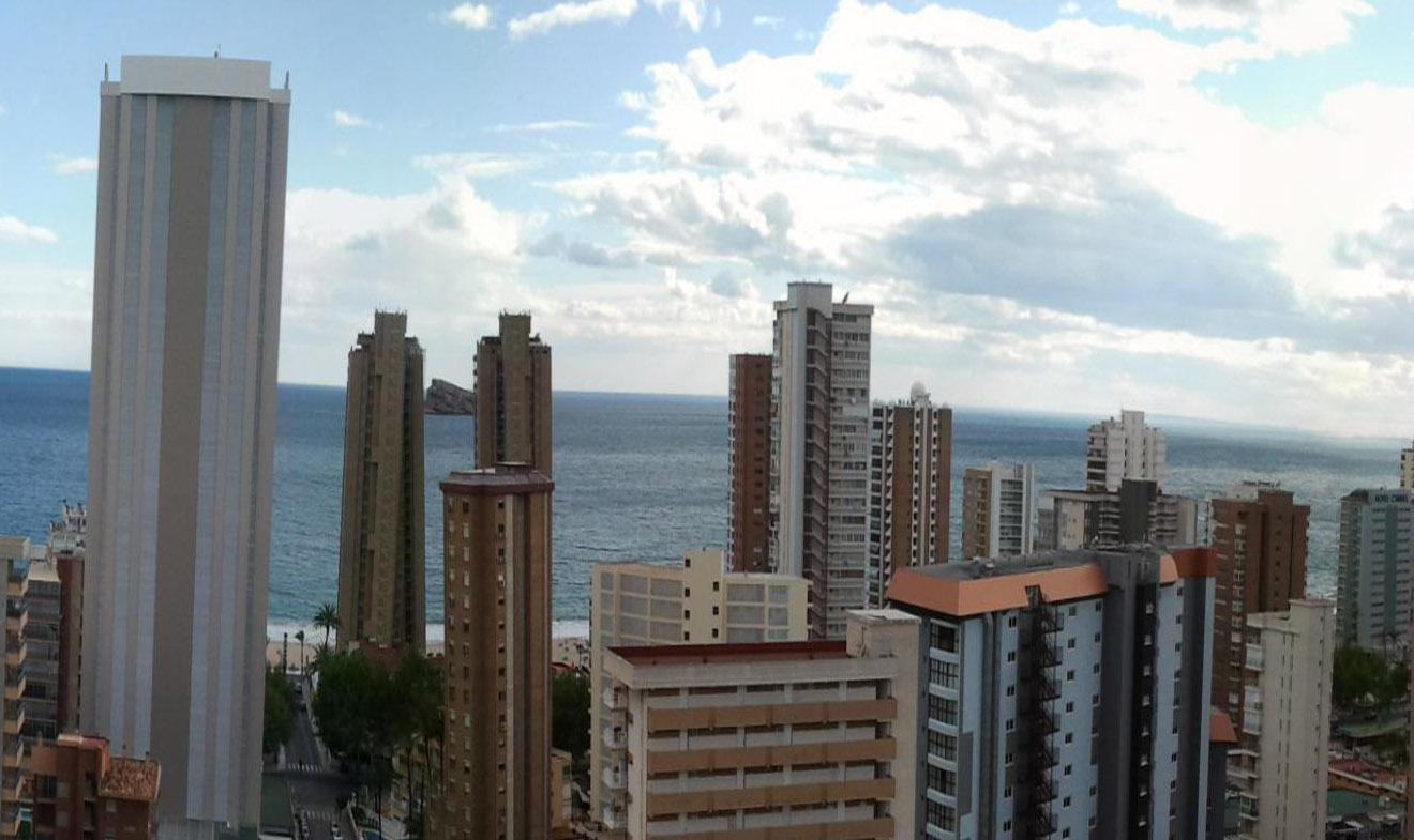 Hotel apartamentos torre domo en benidorm viajes carrefour - Apartamento en benidorm barato ...