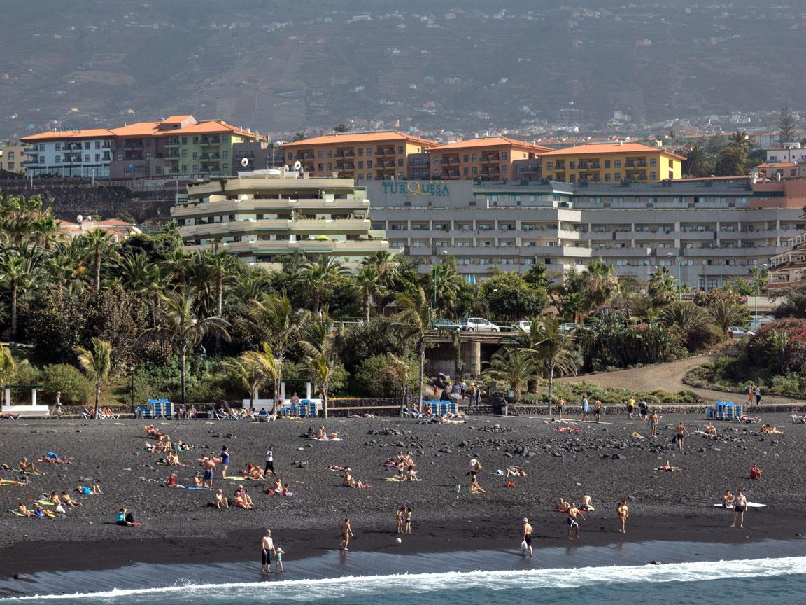 Hotel apartamentos turquesa playa en puerto de la cruz - Hoteles en puerto de la cruz baratos ...