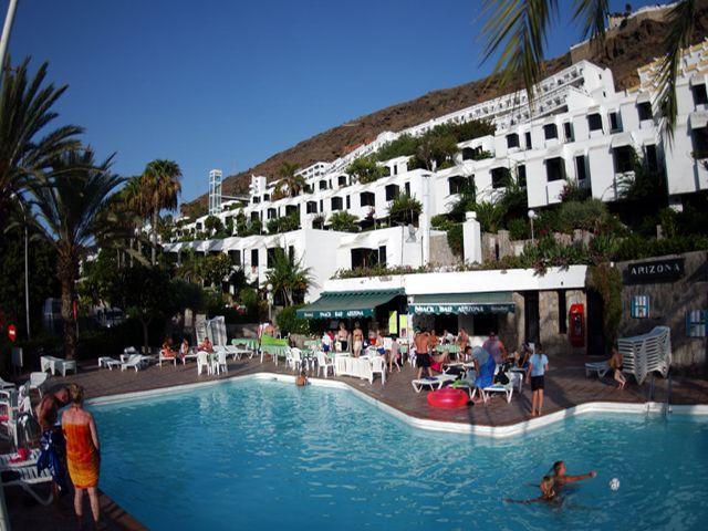 Hotel bungalows arizona en puerto rico gran canaria viajes carrefour - Hoteles en puerto rico gran canaria ...