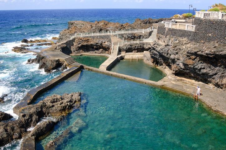 La Palma, piscinas naturales