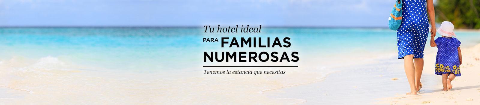 Hoteles familias numerosas ofertas viajes carrefour for Hoteles familias numerosas