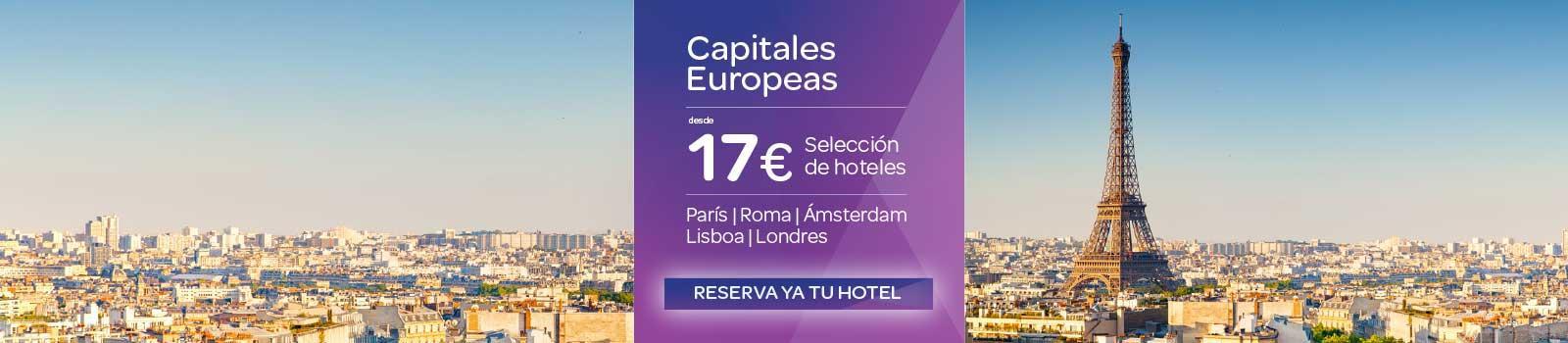 Oferta Hoteles Capitales Europeas