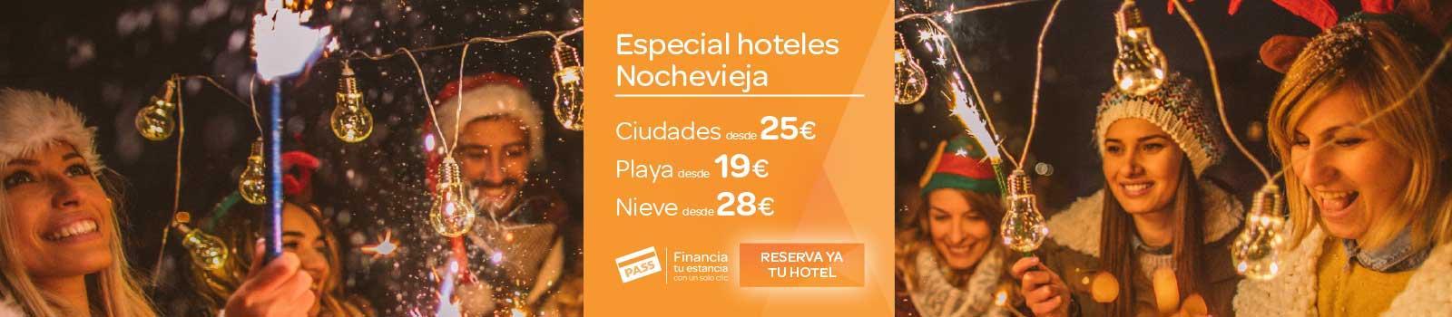 Oferta Hoteles Nochevieja