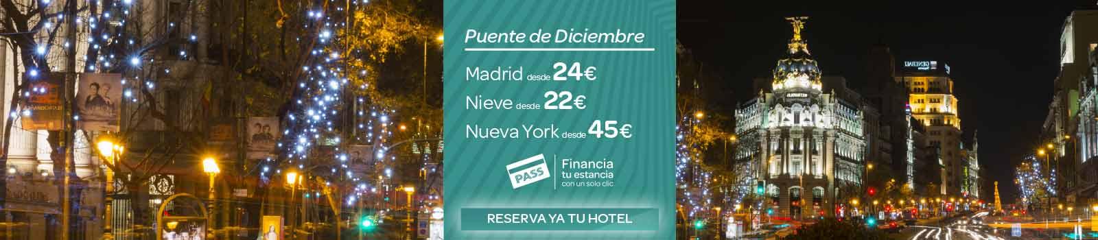 Ofertas Hoteles Puente de Diciembre