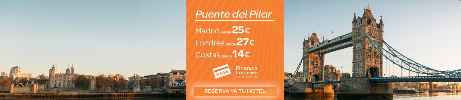 Ofertas Hoteles Puente de El Pilar