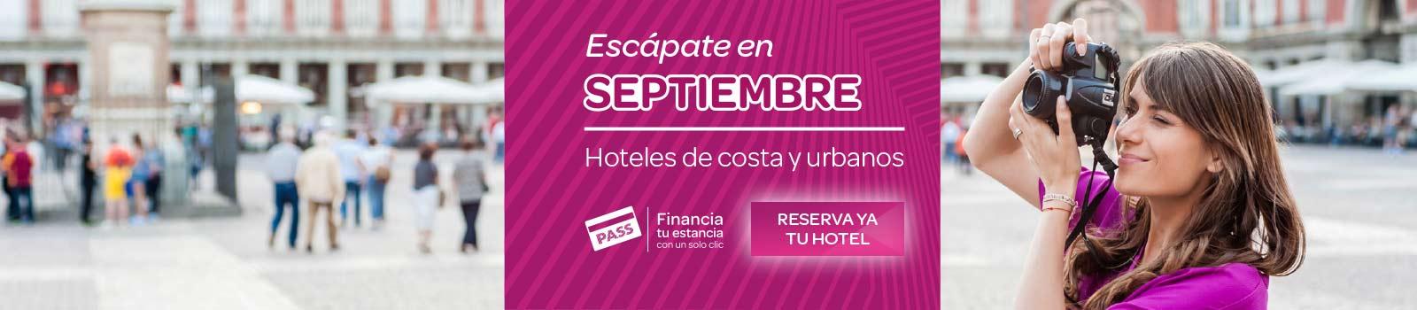 Ofertas Hoteles Septiembre