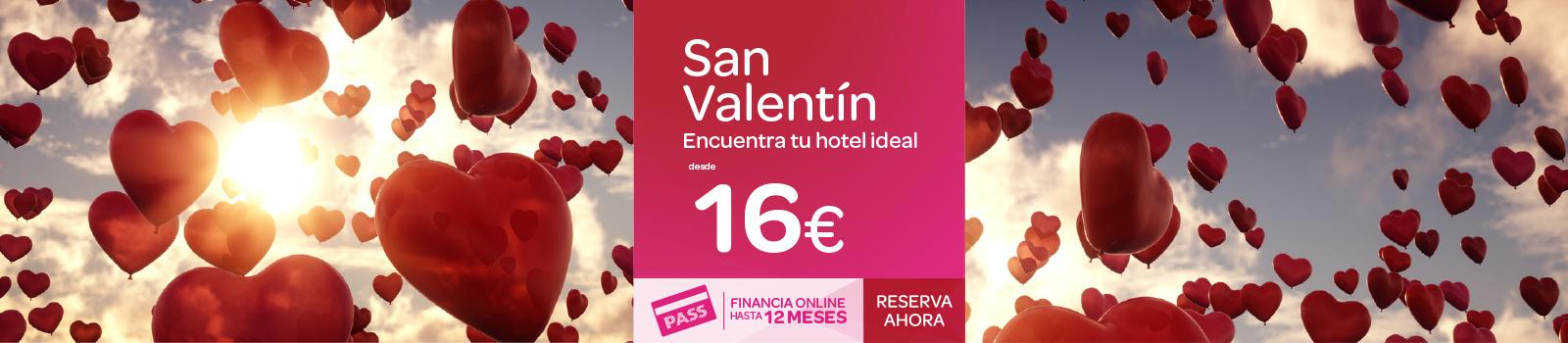 Ofertas Hoteles San Valetín