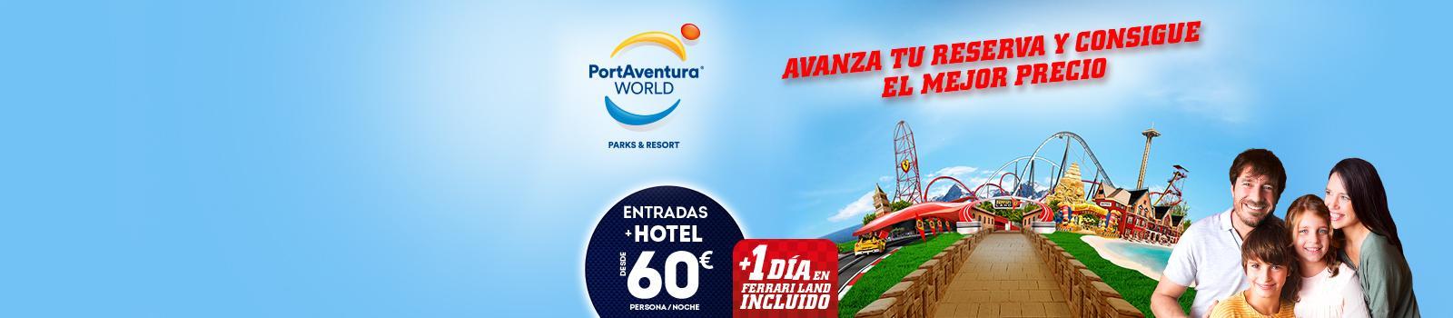 Oferta Hotel mas entrada Portaventura